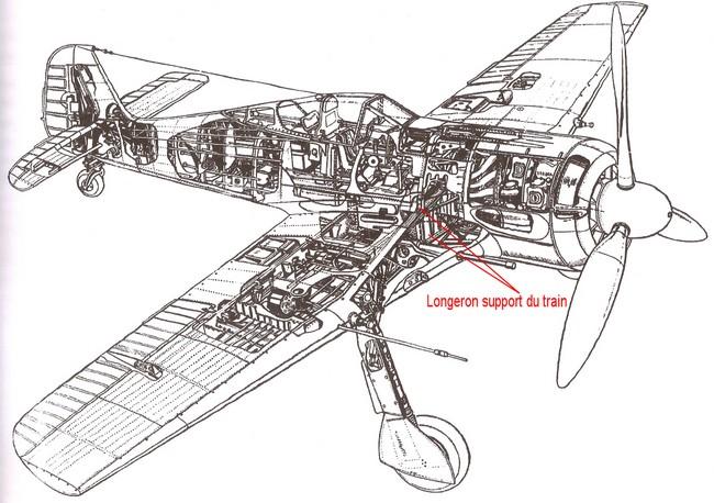 Construction du Fockewul 190 de Karl Achenbach Fw_19020