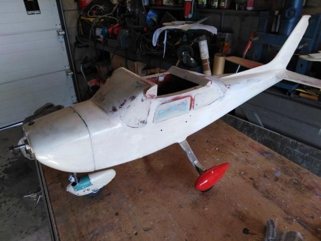 Rénovation d'un Cessna Cardinal d'Aviomodelli  destiné à la poubelle ! Img_2733