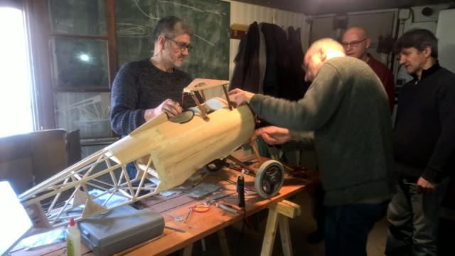 Reprise de la construction du Nieuport 17 à Bruno Wp_20122