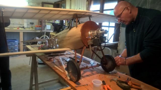 Reprise de la construction du Nieuport 17 à Bruno Wp_20131