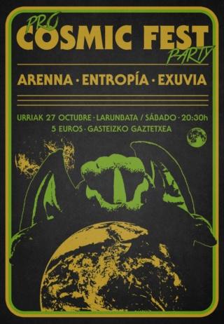Kontzertuak Gasteizen eta Araban. Conciertos en Vitoria y Alava - Página 4 Cosmic10