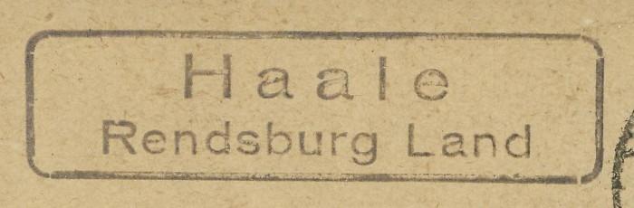 nach - Deutschland  -  Landpoststempel (Poststellenstempel) - Seite 2 Haale_13
