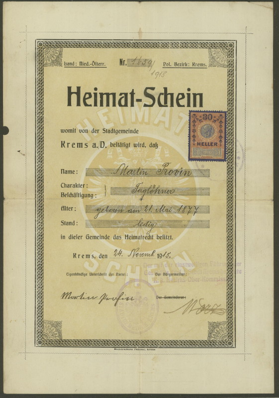 Heimat-Schein Heimat10