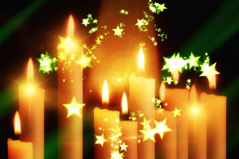 joyeux noel - Page 2 Candle10