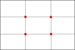Aide à la composition - La règle des tiers. Nefoce10