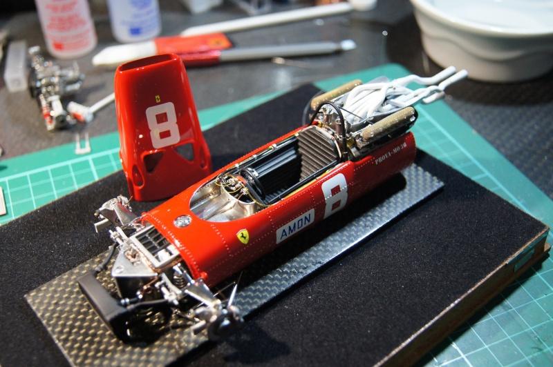 Ferrari 312 F1, GP d'Angleterre, 1967 Chris Amon Dsc08010