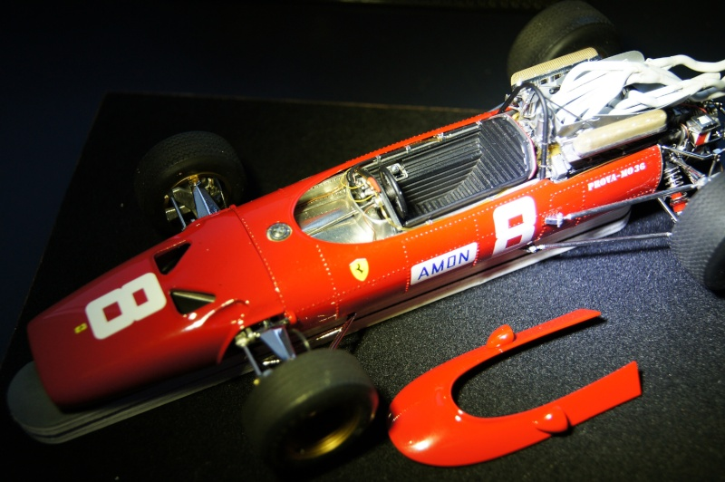 Ferrari 312 F1, GP d'Angleterre, 1967 Chris Amon Dsc08021
