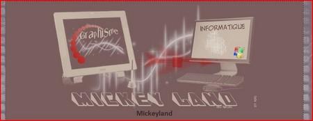 Mickey Land Informatique et Graphisme Forum510
