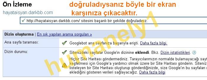 Google Site Doğrulama 412