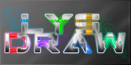 Typographie high-tech Lysdra10