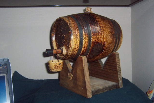 Wine Barrel ... this was NOT made by Mapua Wine_b11
