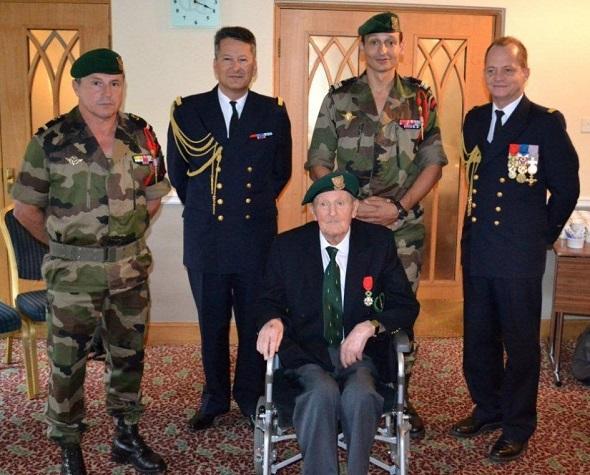 Décès de François Andriot, l'un des derniers Français libres du commando Kieffer Andrio10