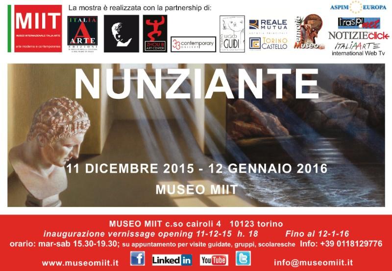 Mostra Nunziante al MIIT di Torino 11 Dicembre-12 Gennaio 2016 0a43a310