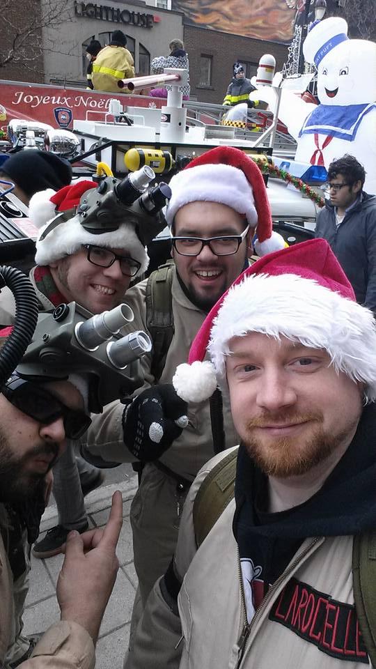 Défilé du pere Noel a Montreal  11223610