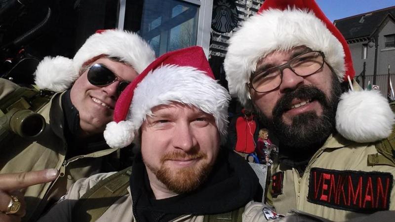 Défilé du pere Noel a Montreal  12241210