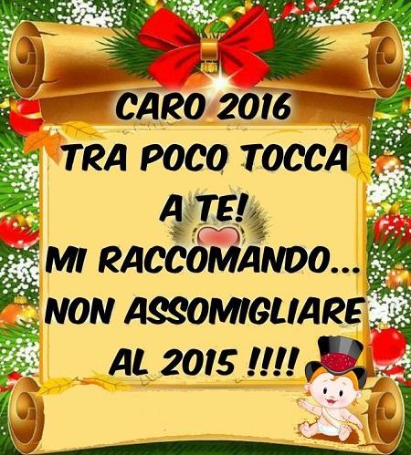 Buon anno 201611