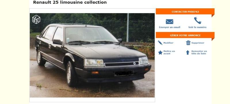 [Leboncoin] Renault 25 Turbo DX Limousine noire  Sans_t11