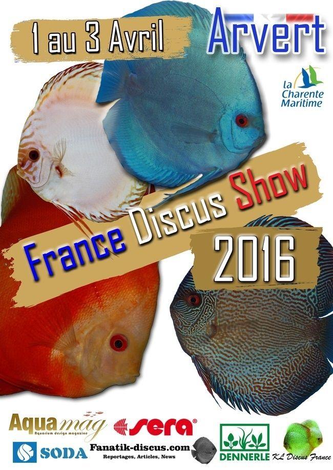 France Discus Show 2016 Affich12