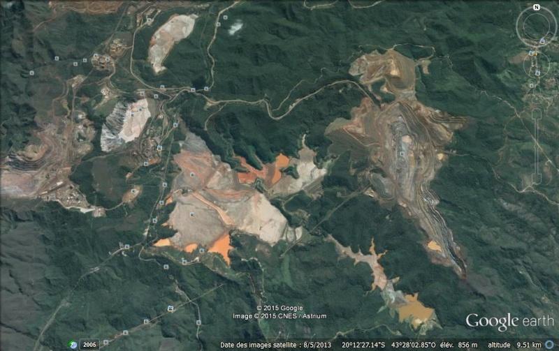 catastrophe écologique au Bresil après coulée de boue toxique  Barrag10