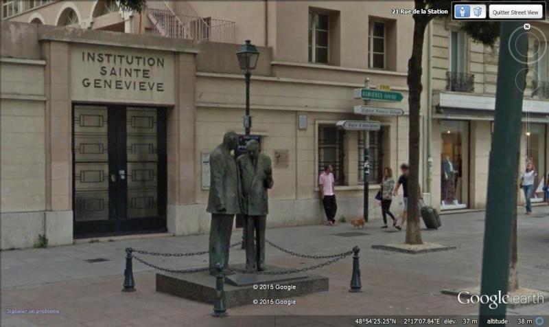 Les curiosités d'Asnières-sur-Seine Statue10