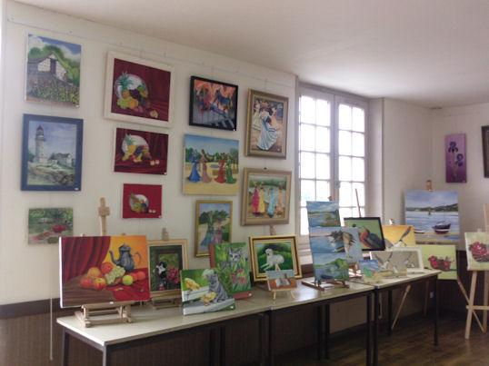 Exposition des Ateliers 2010 à Cunault ... Les_ta10