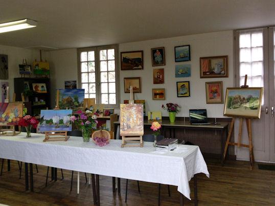 Exposition des Ateliers 2010 à Cunault ... Les_ta12