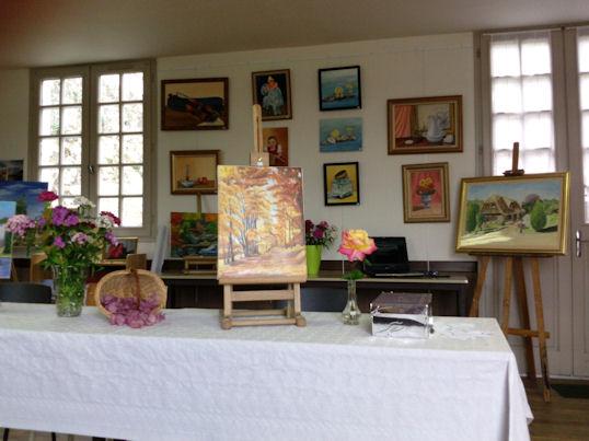 Exposition des Ateliers 2010 à Cunault ... Les_ta14