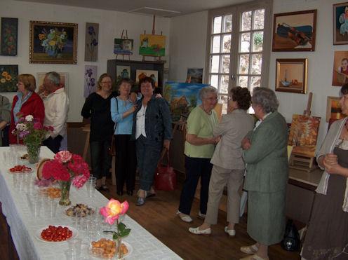 Exposition des Ateliers 2010 à Cunault ... Vernis19