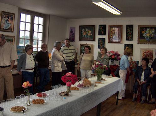 Exposition des Ateliers 2010 à Cunault ... Vernis22