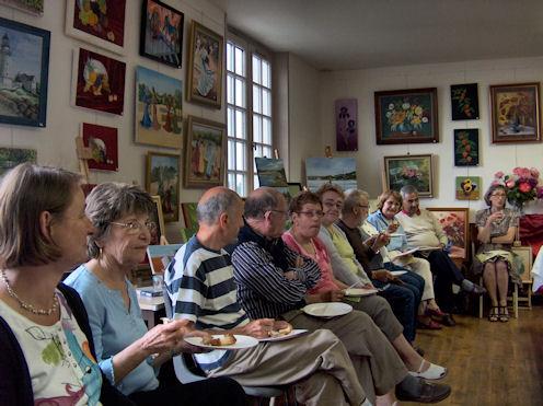Exposition des Ateliers 2010 à Cunault ... Vernis23