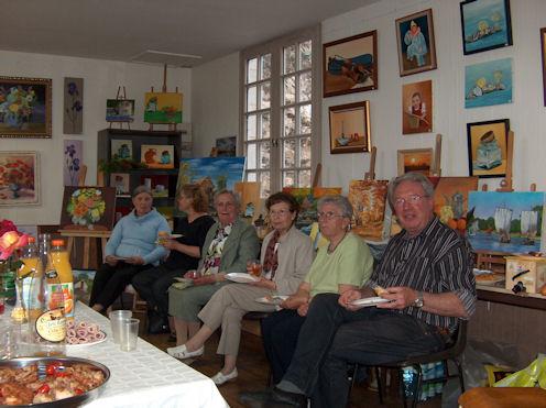 Exposition des Ateliers 2010 à Cunault ... Vernis24