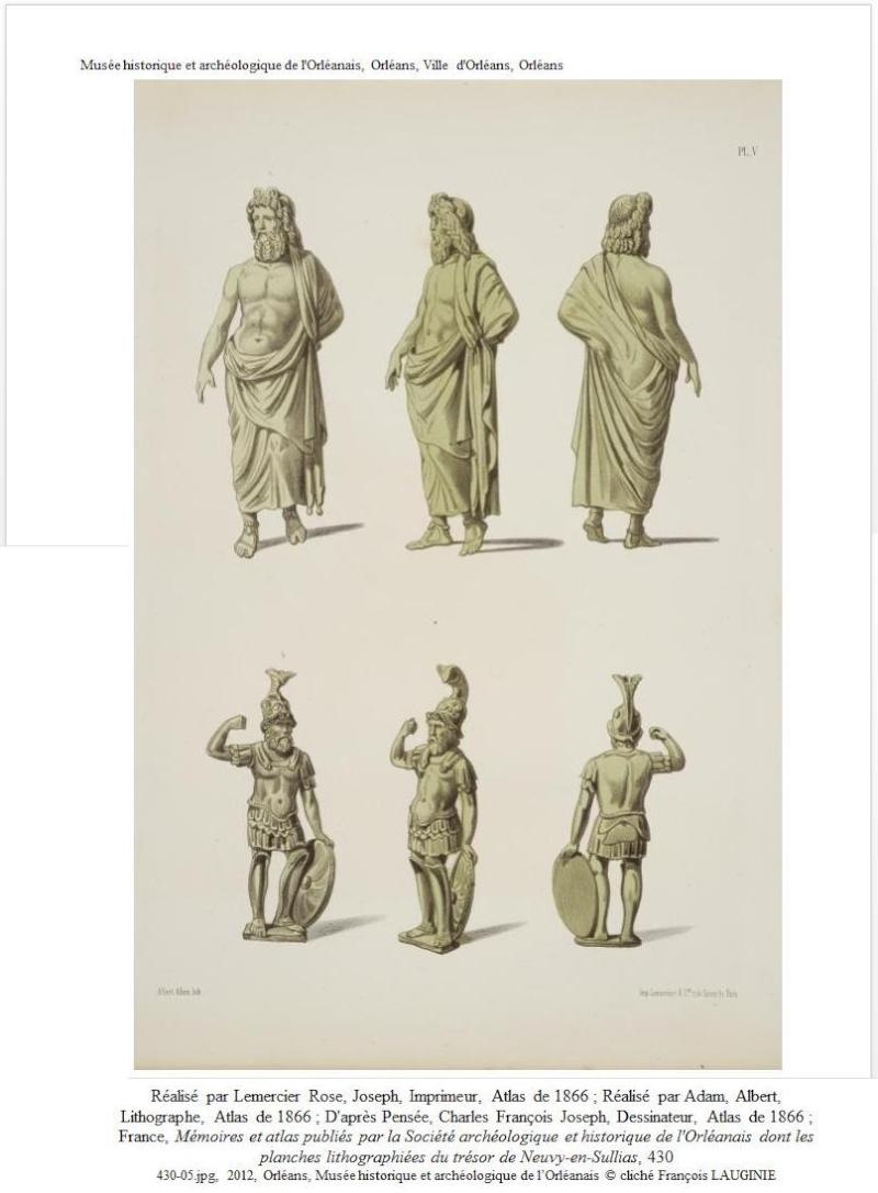 Il existerait des statues représentant Postume, Victorin et Tetricus ... 110