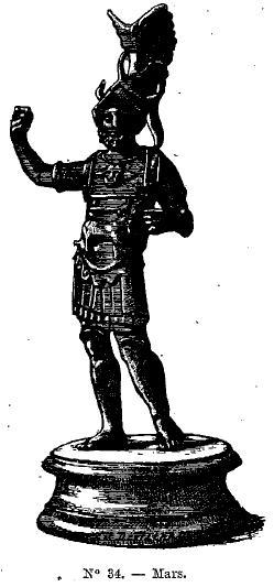 Il existerait des statues représentant Postume, Victorin et Tetricus ... Mars_s10