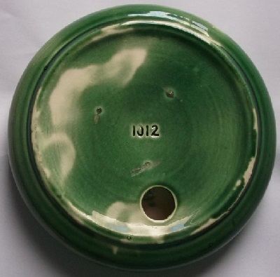 Who made this green embossed vase.  It is a Crown Lynn design, not sure who glazed it though. Dscf2341