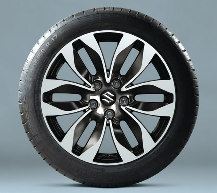 HAS YOUR VITARA BEEN DELIVERED WITH OPTIONAL MISTI ALLOY WHEELS? Misti11