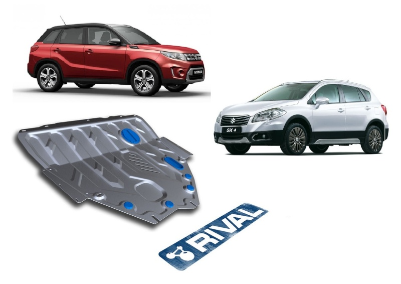 RIVAL SKID PLATE AND FUEL TANK GUARDS STEEL S-CROSS Rival_10