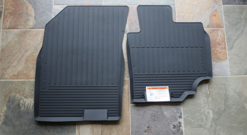 RUBBER FLOOR MAT SET RHD PART#75901-54PA0-000 Rubber10
