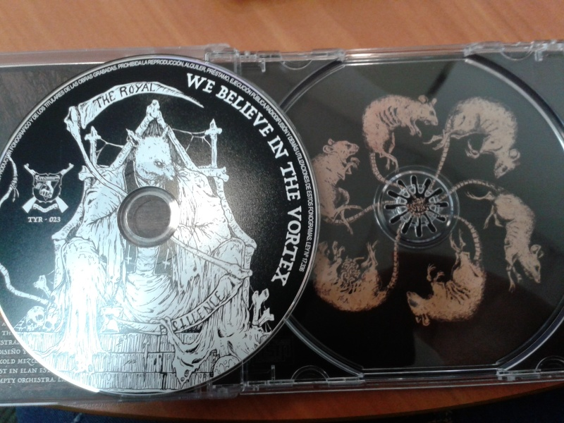 AUSTRAL/COLD -The Exalted Shadows of Death Are Dancing-  SPLIT CD DISPONIBLE AHORA! 2015-114