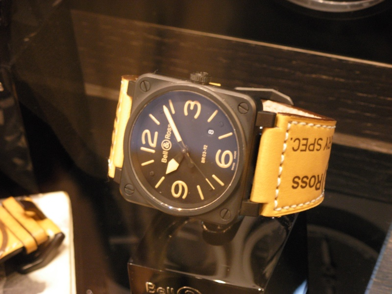 [Revue] Bell & Ross 123 vintage black officer Dscn0918