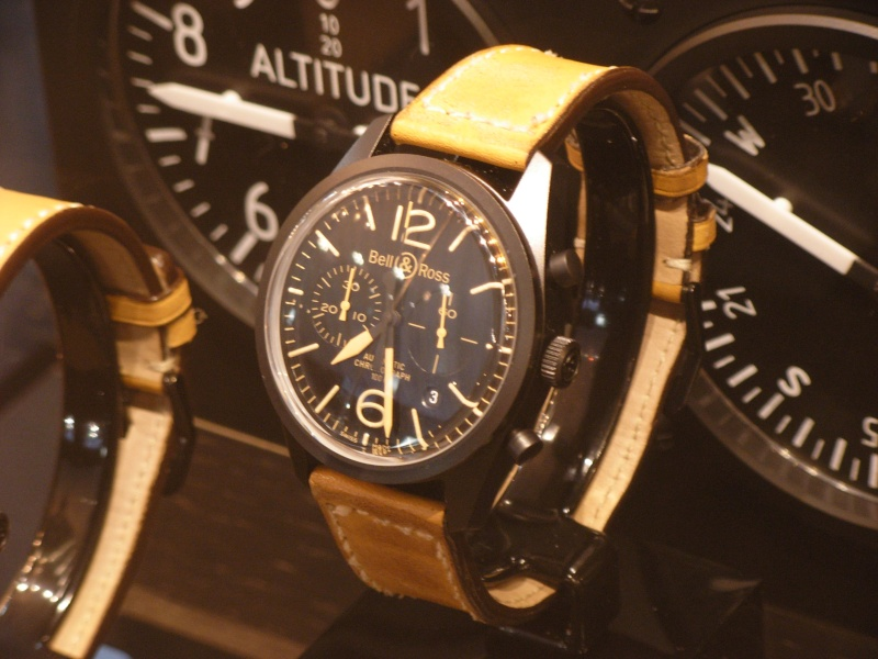 [Revue] Bell & Ross 123 vintage black officer Dscn0923