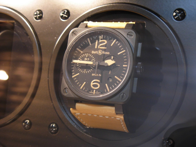 [Revue] Bell & Ross 123 vintage black officer Dscn0934