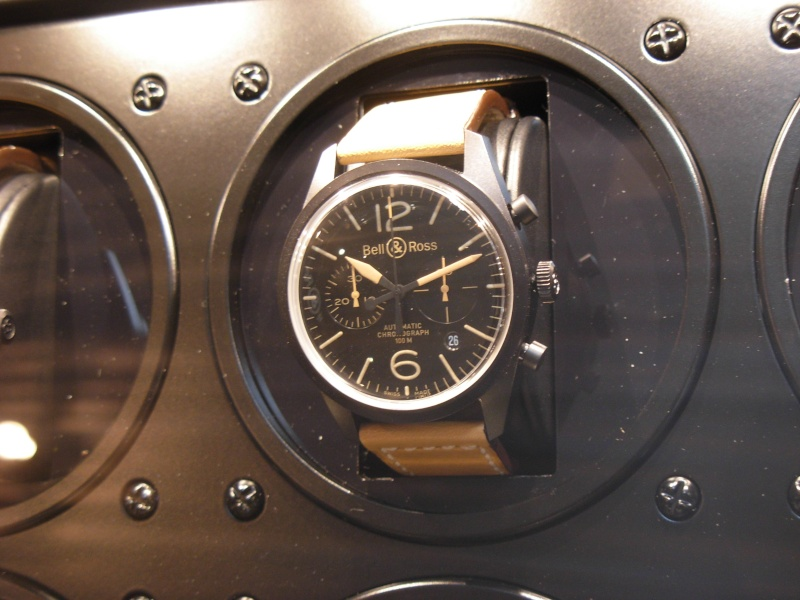 [Revue] Bell & Ross 123 vintage black officer Dscn0936