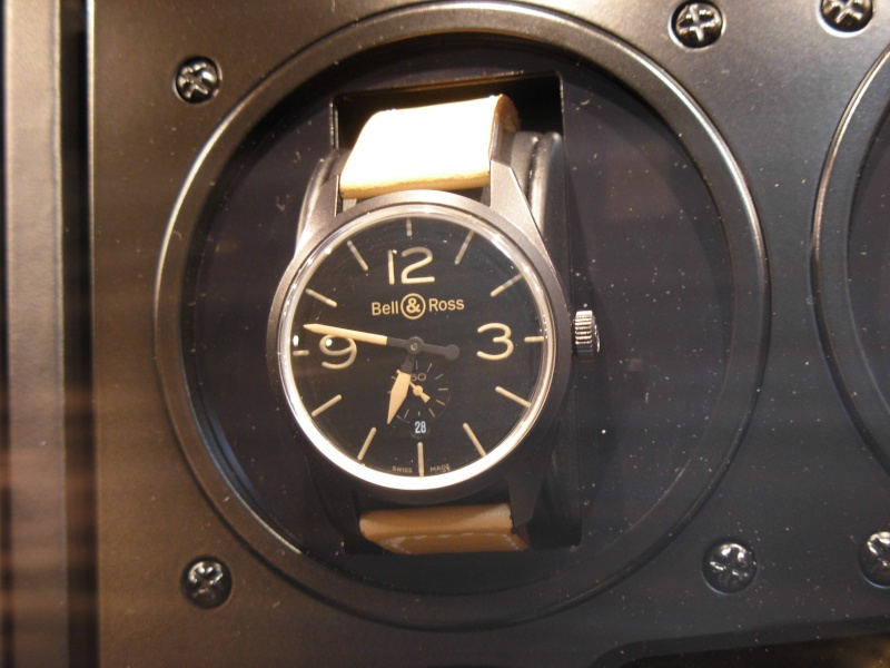[Revue] Bell & Ross 123 vintage black officer Dscn0937