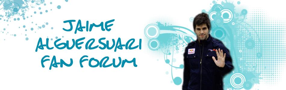 Jaime Alguersuari Fan Forum