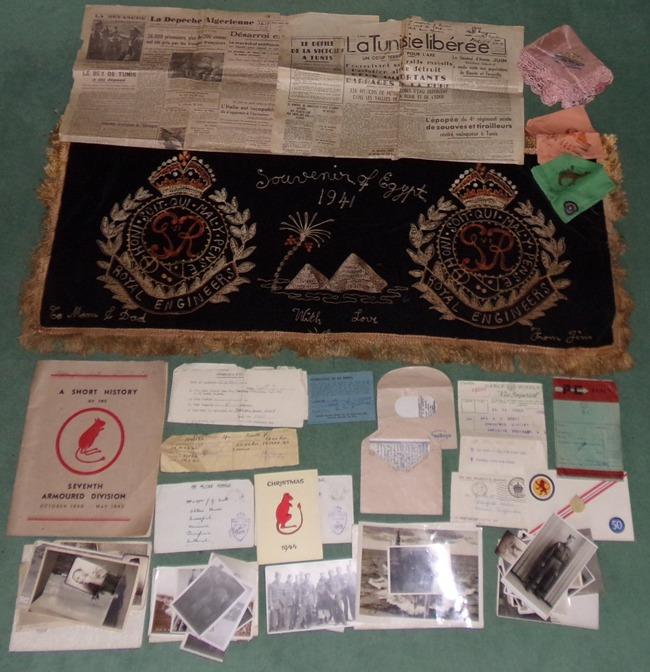 Drapeau allemand, prise de guerre de la 7th Armoured Division [La suite 01/2016] 101_0312