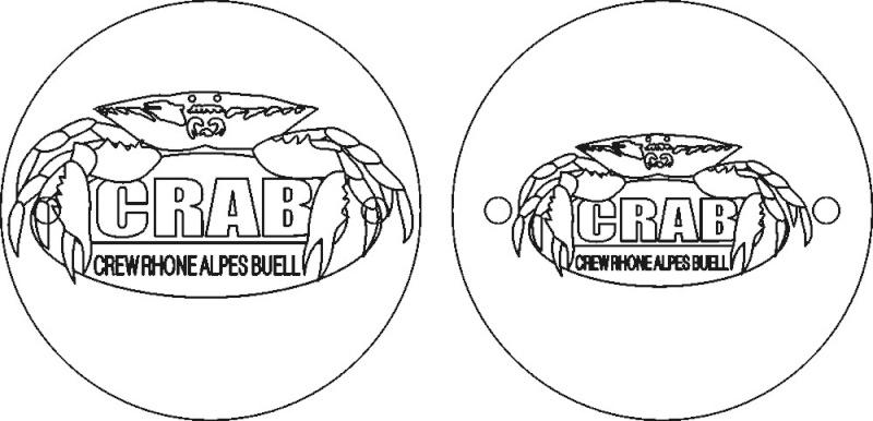 """couvercle d'allumage """"CRAB"""" Crab_t10"""
