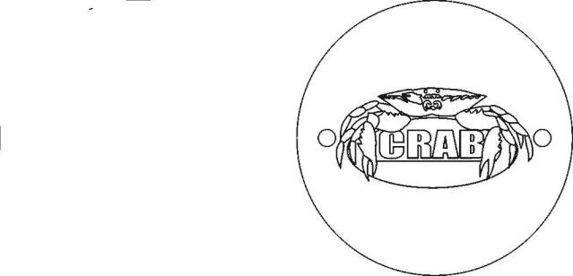 """couvercle d'allumage """"CRAB"""" Crab_t11"""