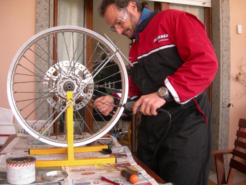 Manutenzione ruota e raggi Dscn5419