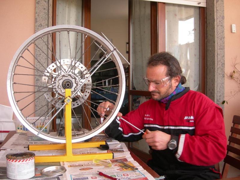 Manutenzione ruota e raggi Dscn5420