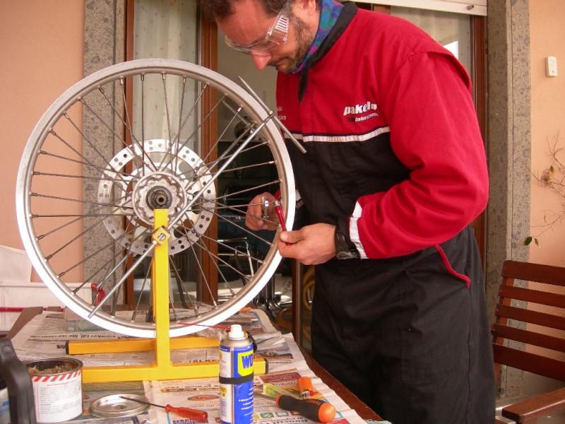 Manutenzione ruota e raggi Dscn5422